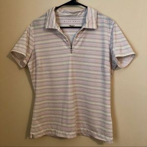 Nike Golf Fit Dry Striped Top